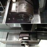 Küchenreinigung Lüfter