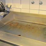 Küchenreinigung detail