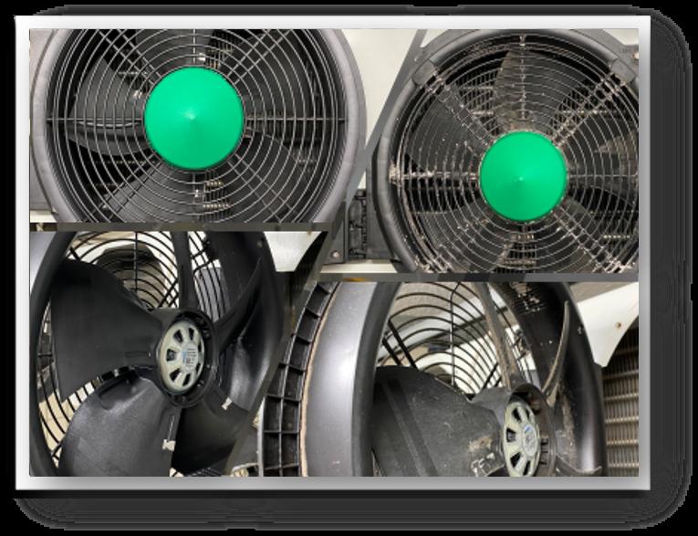 Kühlanlagenreinigung mit Trockeneis