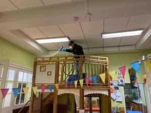 Anti-Keim-Beschichtung Kindergarten