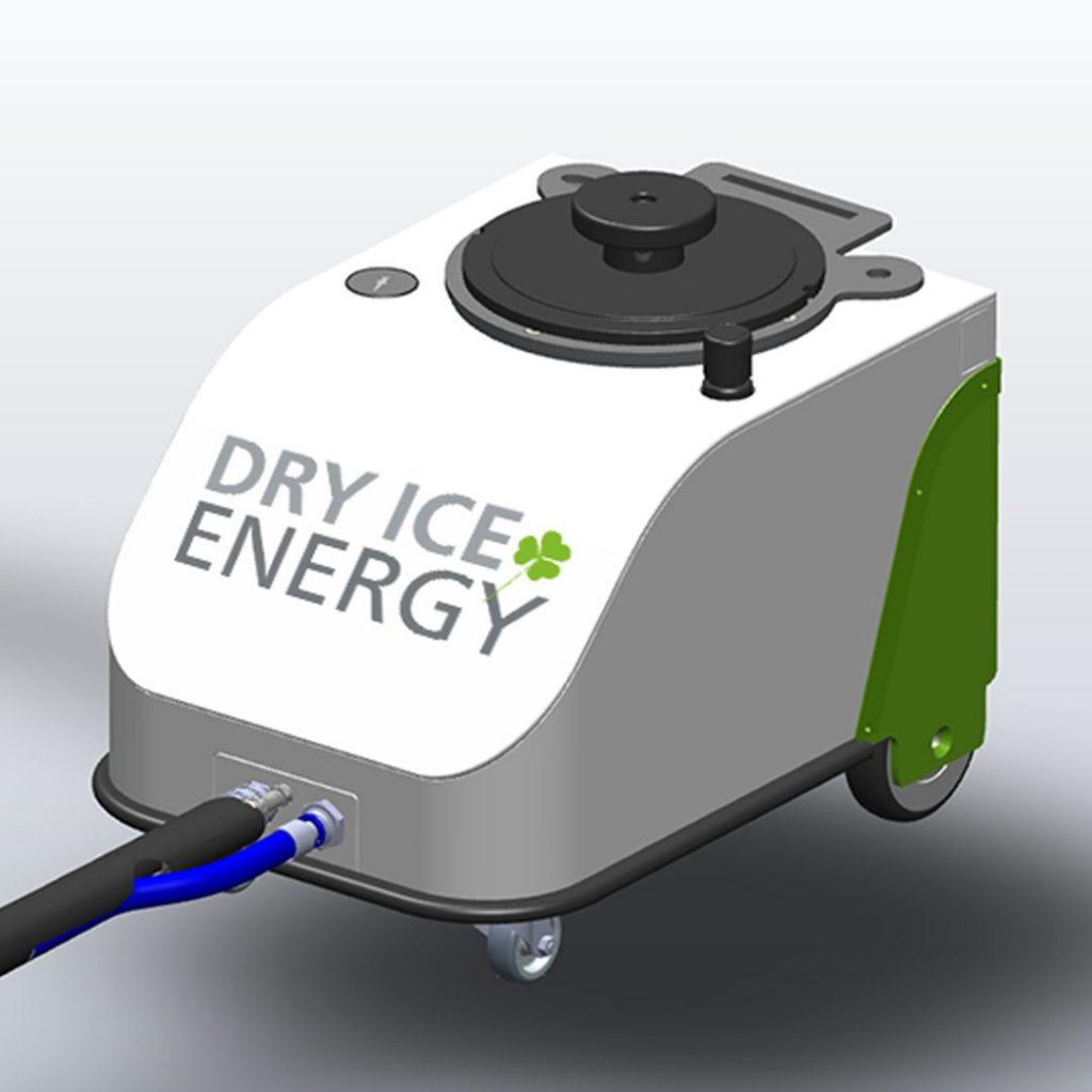Trockeneisreinigungsgerät Dry Ice Energy