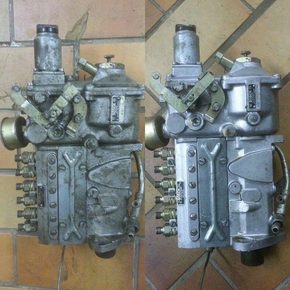 Motorreinigung mit Trockeneisstrahlgerät